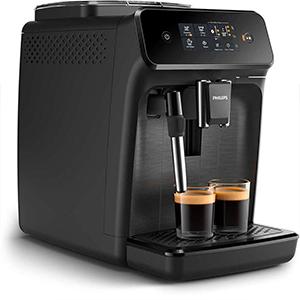 Одновременное приготовление двух чашек в кофемашине Philips EP1220 Series 1200