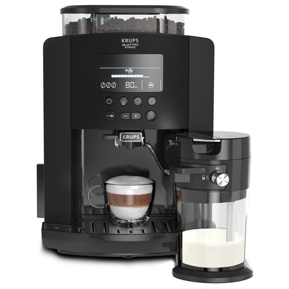 Кофемашина автоматическая зерновая Krups EA819N Arabica