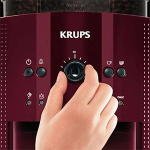 3 степени помола в кофемашине Krups EA810770 Essential