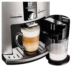 регулируемая высота дозатора для кофе в кофемашине  Krups EA829E Latt' Express