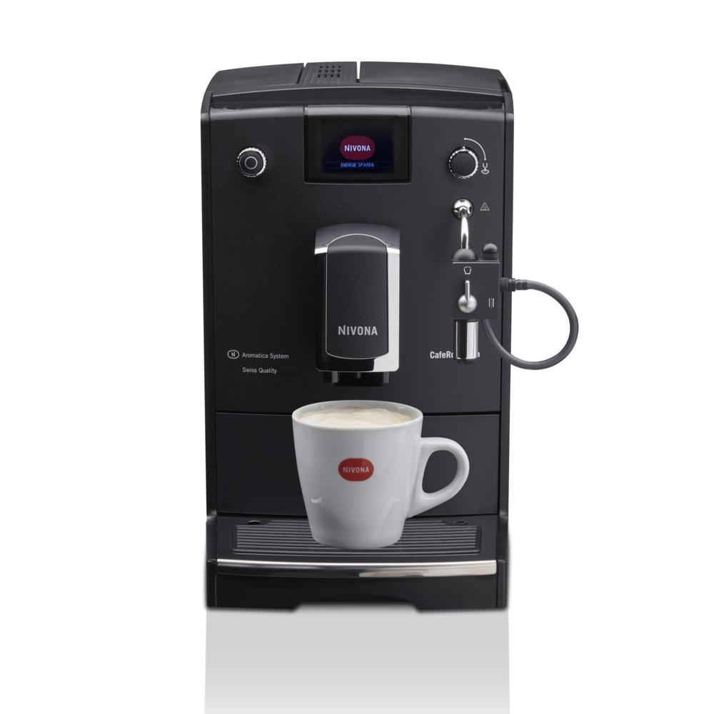 Кофемашина автоматическая зерновая Nivona CafeRomatica 660 вид спереди