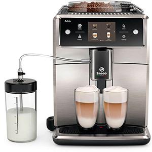 15 индивидуальных напитков в кофемашине Saeco SM7683 Xelsis