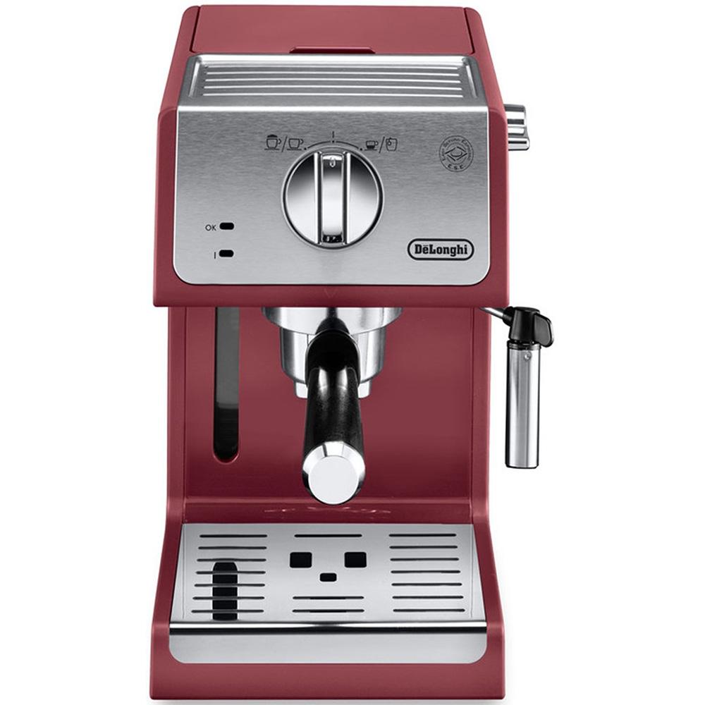 Кофеварка рожковая De'Longhi ECP 33.21.R вид спереди