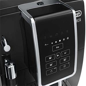 Дисплей с подсветкой в кофемашине De'Longhi Dinamica ECAM 350.15.B