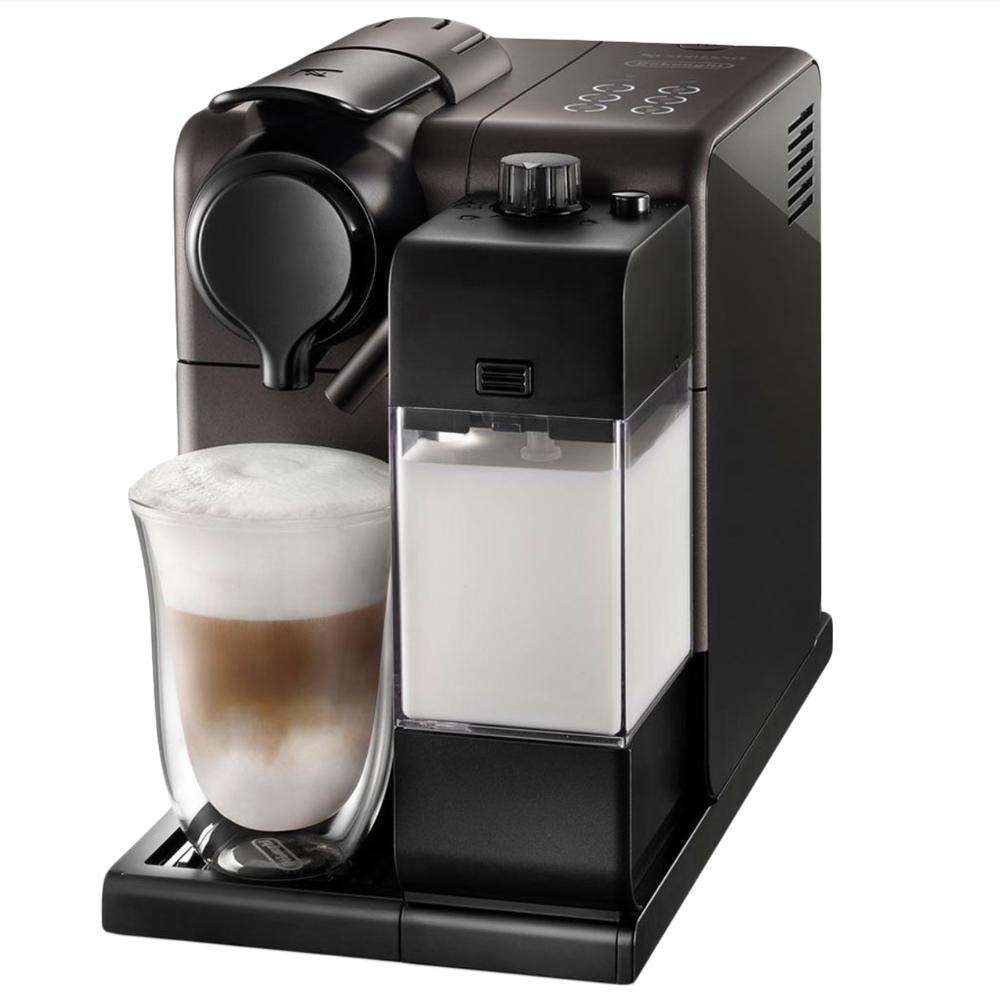 Фото капсульной кофемашины Delonghi Nespresso Lastissima Touch EN 550.B вид спереди