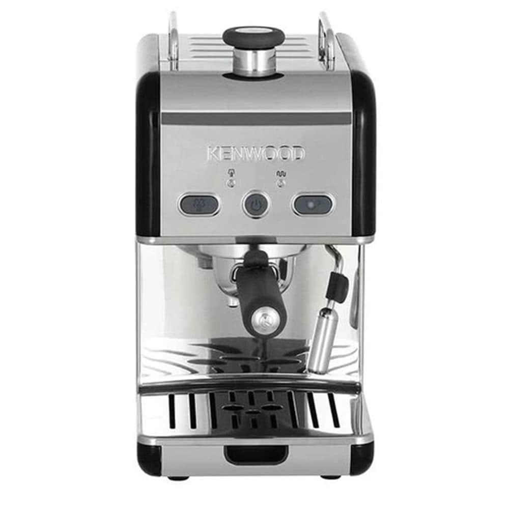 Кофеварка рожковая Kenwood ES 020.B цвет черный фото вид спереди