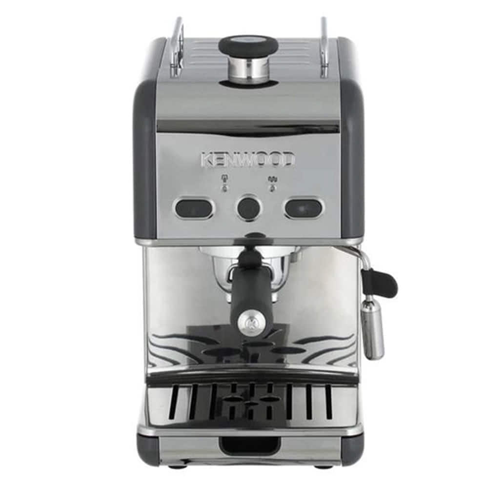 Кофеварка рожковая Kenwood ES 020.G цвет серый фото вид спереди