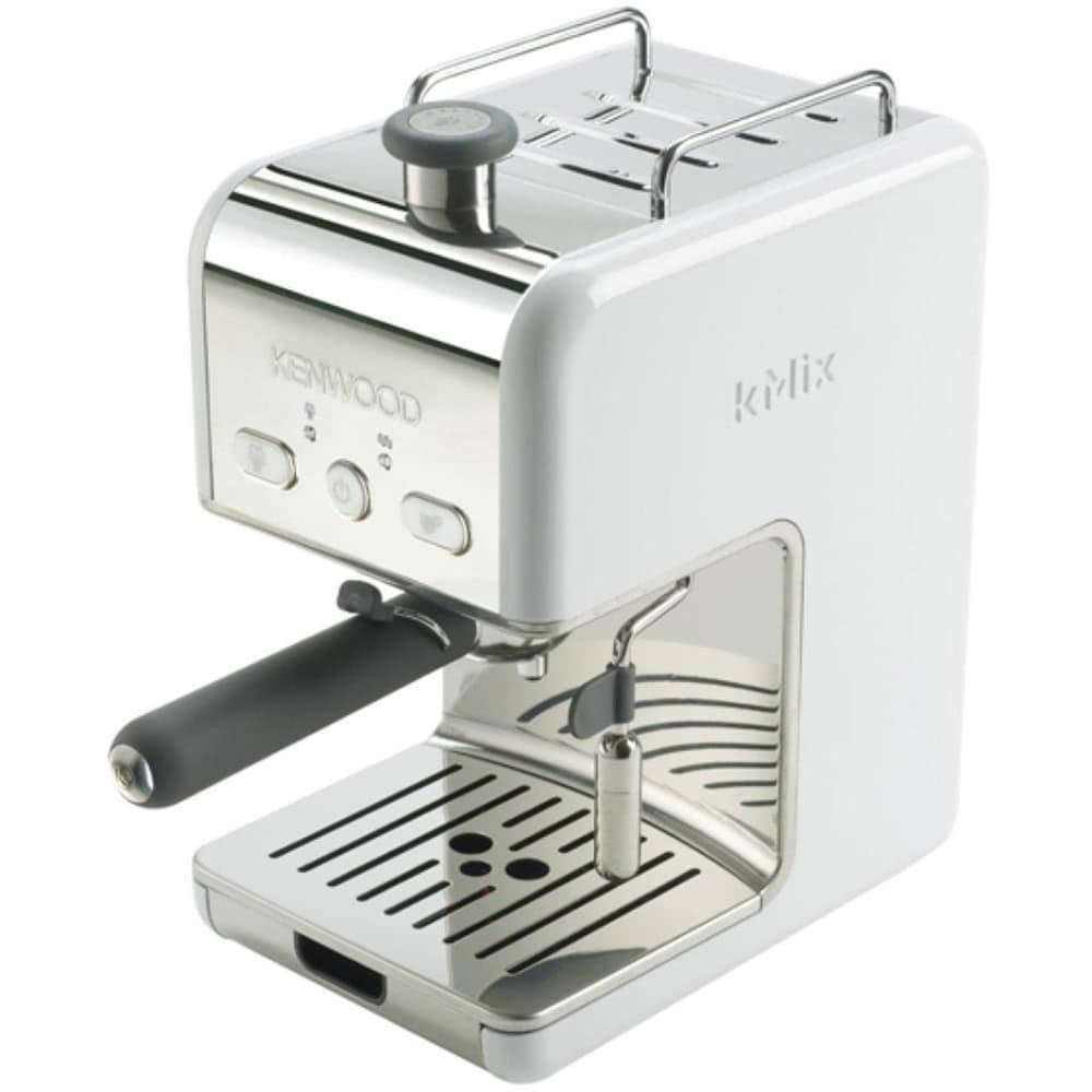 Кофеварка рожковая Kenwood ES 020.W цвет белый фото сбоку