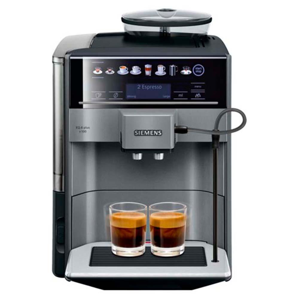 Кофемашина автоматическая зерновая Siemens TE651209RW EQ.6 plus s100