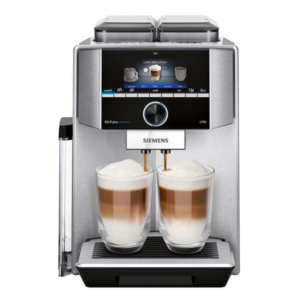 Кофемашина автоматическая зерновая Siemens TI9573X1RW EQ.9 plus connect s700