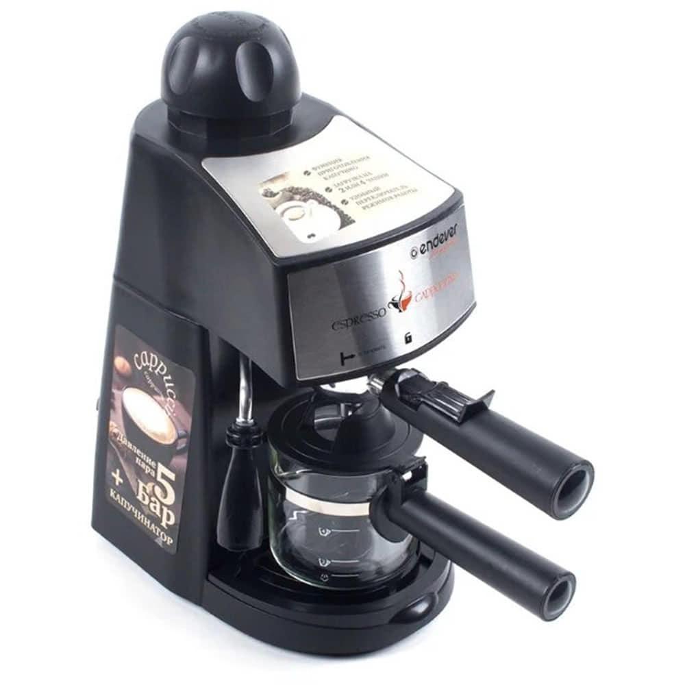 Кофеварка рожковая ENDEVER Costa-1050 вид спереди
