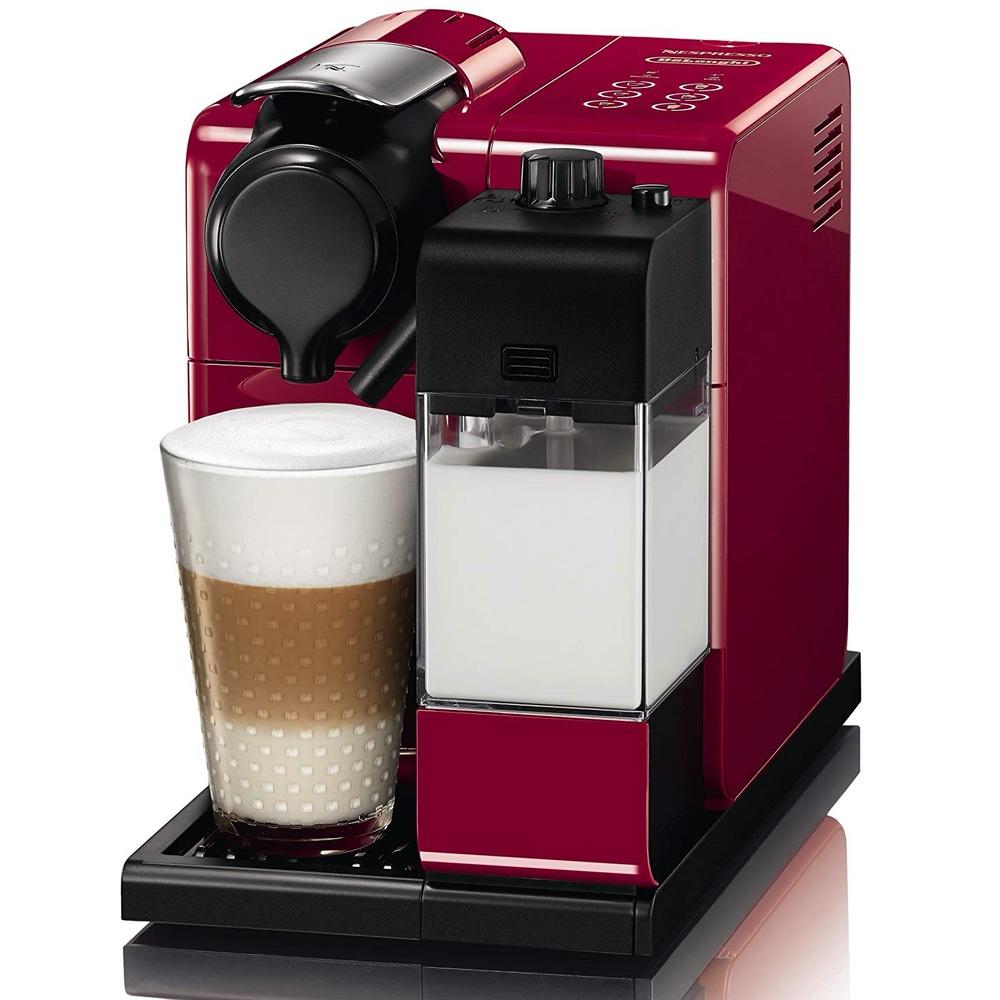 Капсульная кофемашина De'Longhi Nespresso Latissima Touch EN 550.R вид спереди