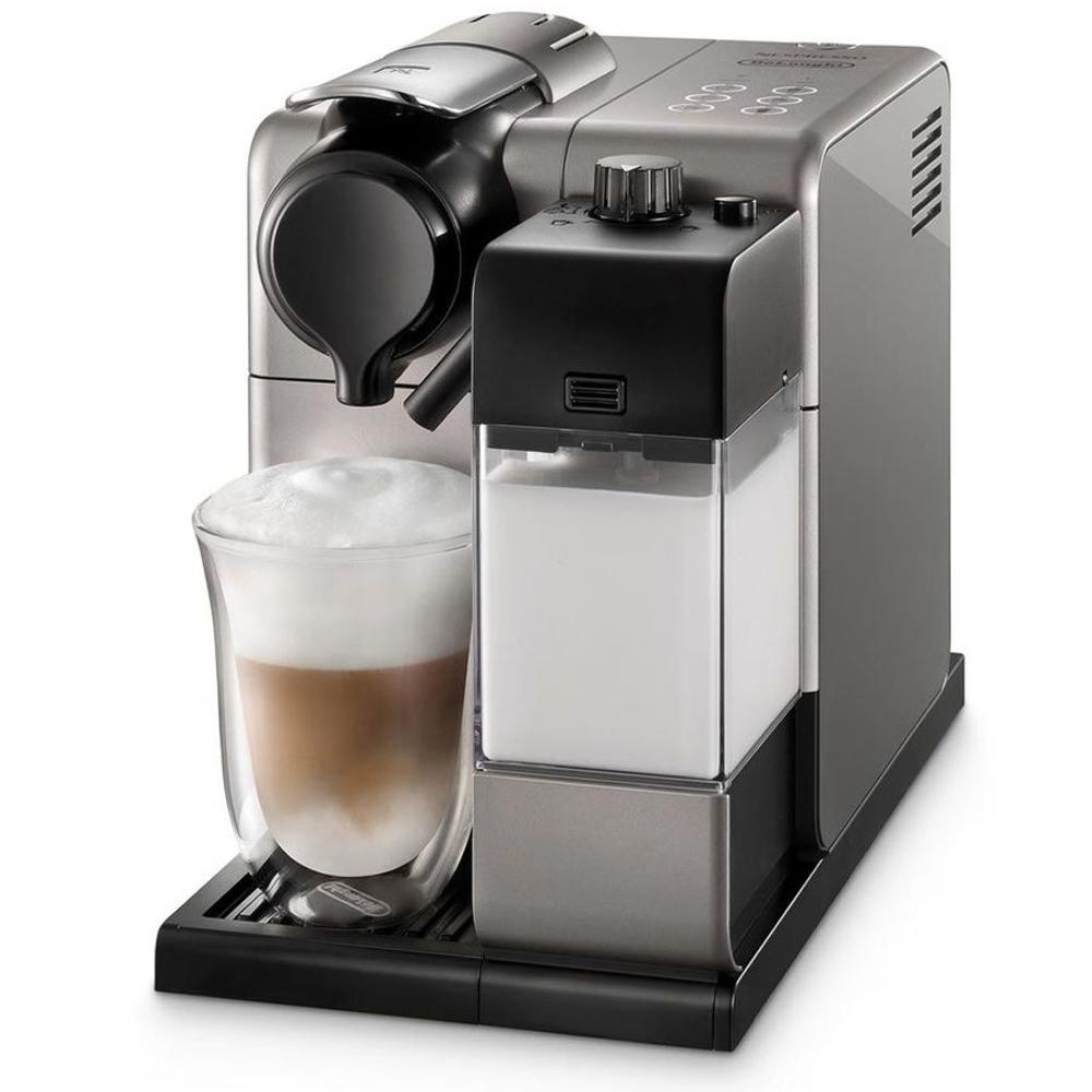 Капсульная кофемашина Delonghi Nespresso Latissima Touch EN 550.S фото вид спереди
