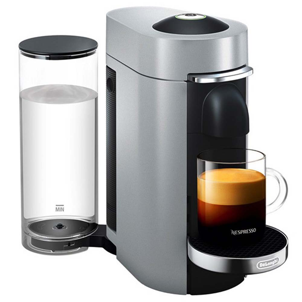 Капсульная кофемашина De'Longhi Nespresso ENV 155 S вид спереди фото