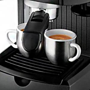 Кофеварка DeLonghi EC 146 B одновременное приготовление двух чашек кофе