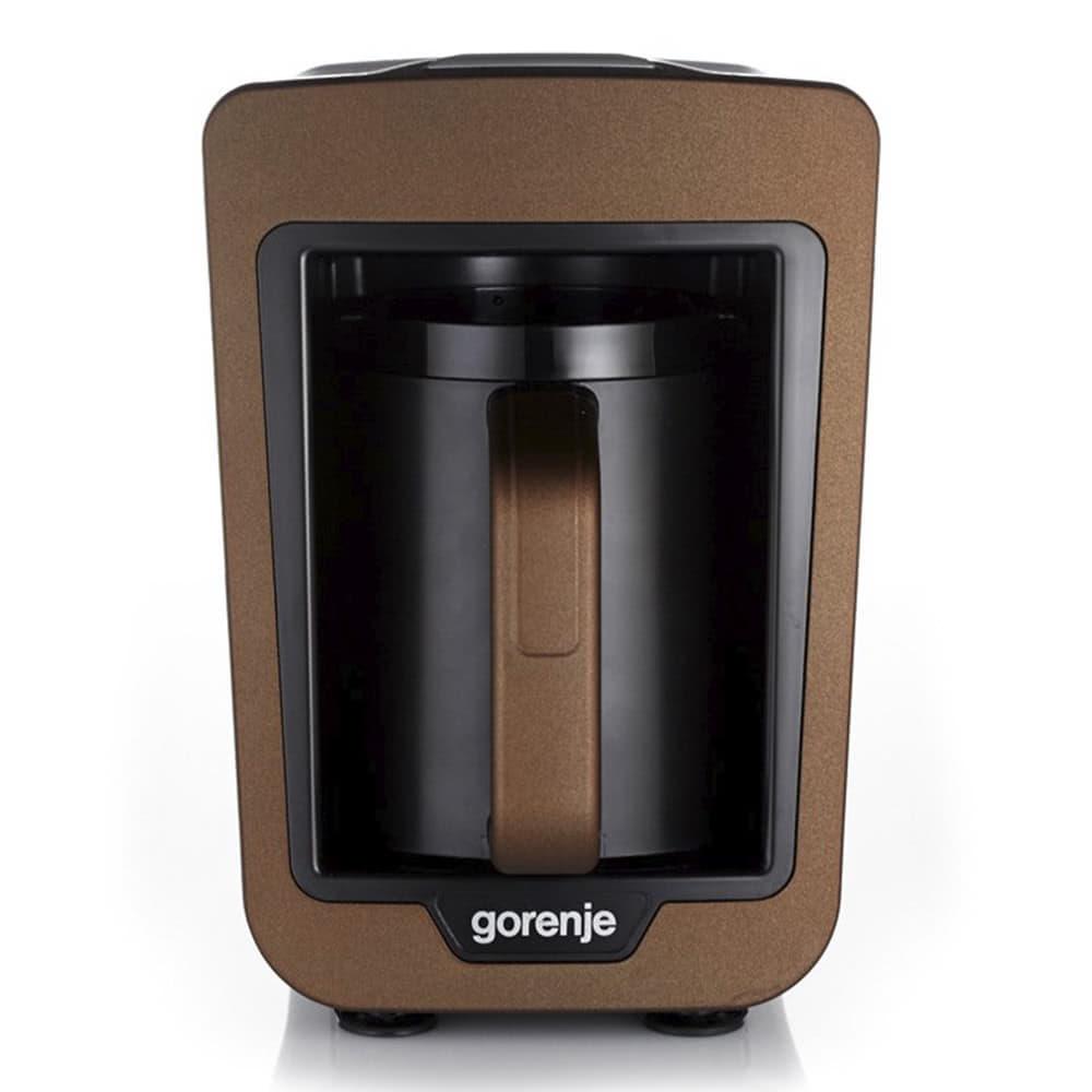 Кофеварка Gorenje ATCM730T цвет коричневый фото вид спереди