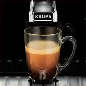 Кофемашина автоматическая зерновая Krups EA8150 Roma LCD - идеальный экспрессо