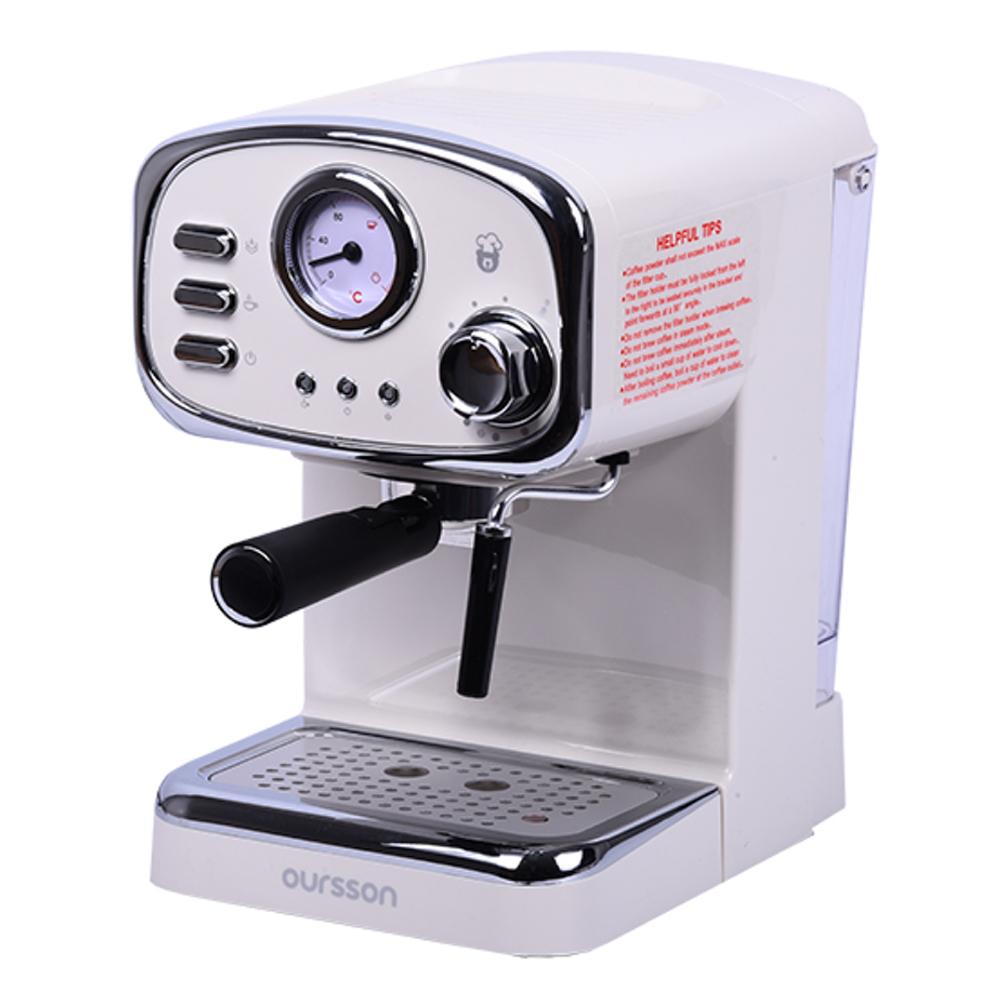 Кофеварка рожковая Oursson EM1505.W главное фото