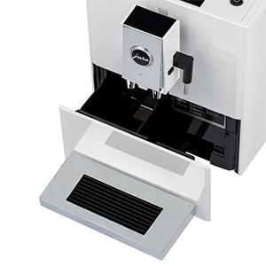 контейнер для отходов на 9 порций в кофемашине Jura A7 Piano White