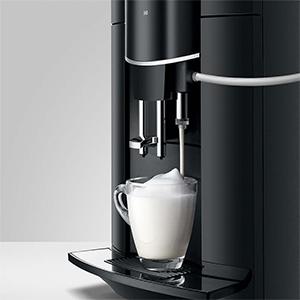 7 напитков в кофемашине Jura D60 Pianoblack