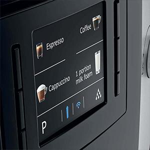7 индивидуальных программ в кофемашине Jura E6 Platin