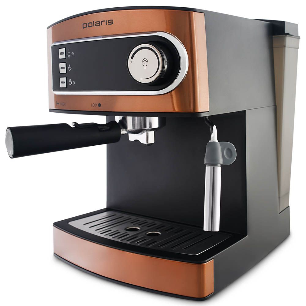 Кофеварка рожковая Polaris PCM 1515E Adore Crema главное фото