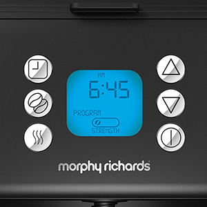 Кофемашина Morphy Richards 162009 с функцией автоматической настройки объёма кофе
