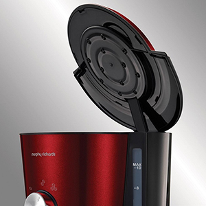 Кофемашина Morphy Richards 162522- Технология равномерного полива