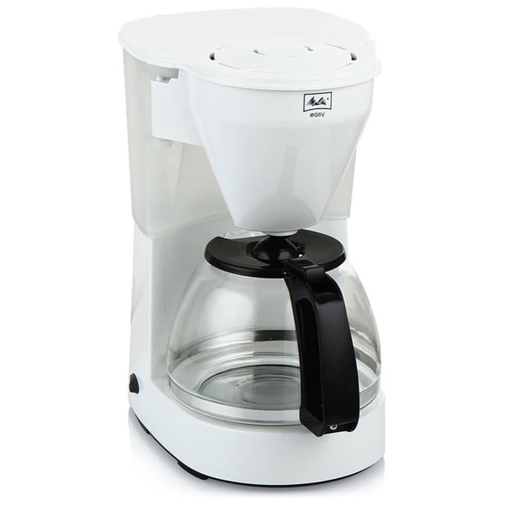Кофеварка Melitta Easy W цвет белый фото вид спереди