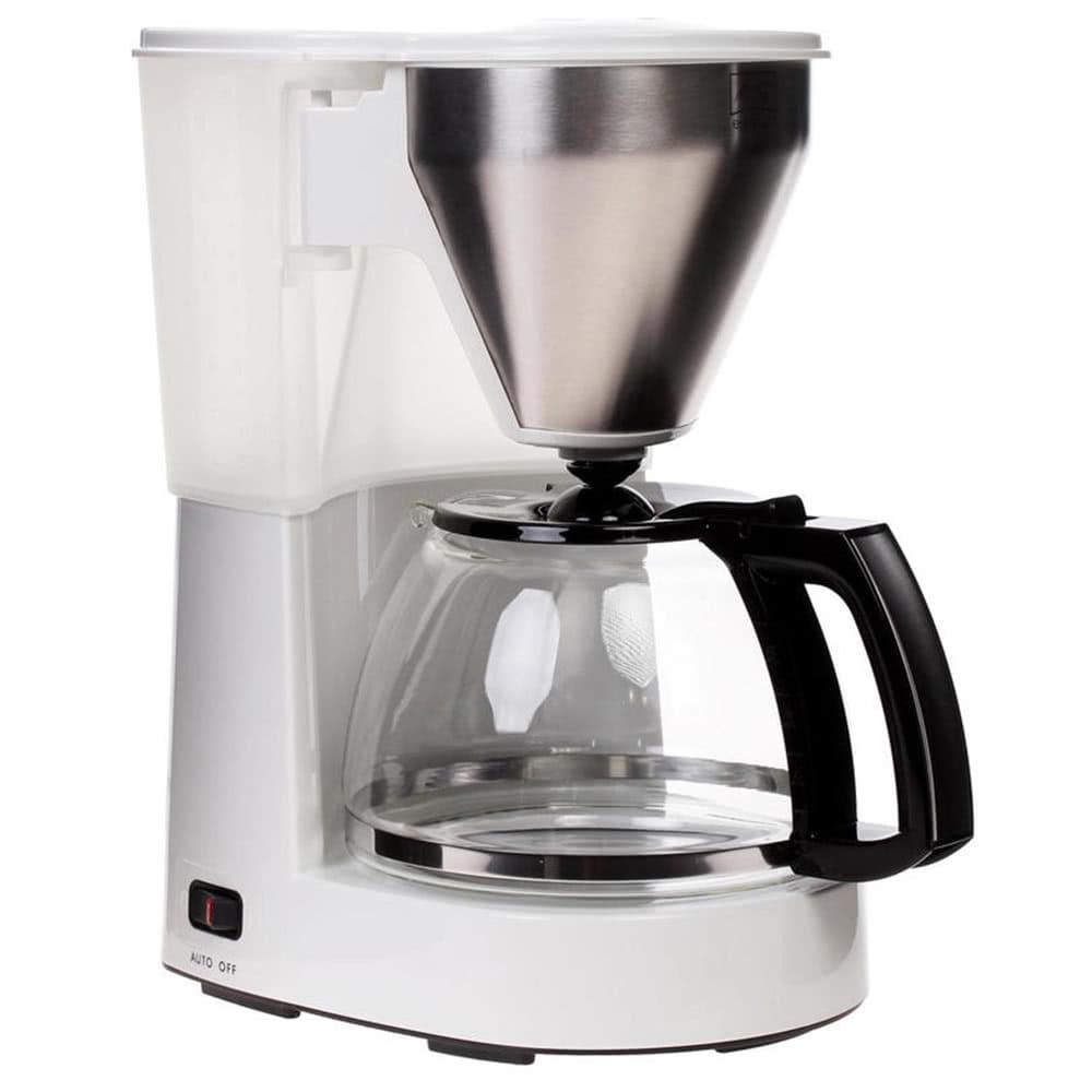 Кофеварка Melitta Easy Top W цвет белый фото сбоку