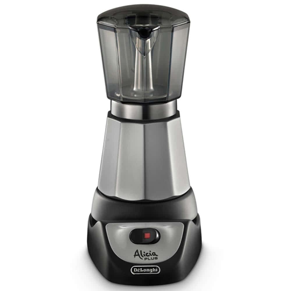 Кофеварка De'Longhi Alicia EMKM 6 цвет черный фото вид спереди
