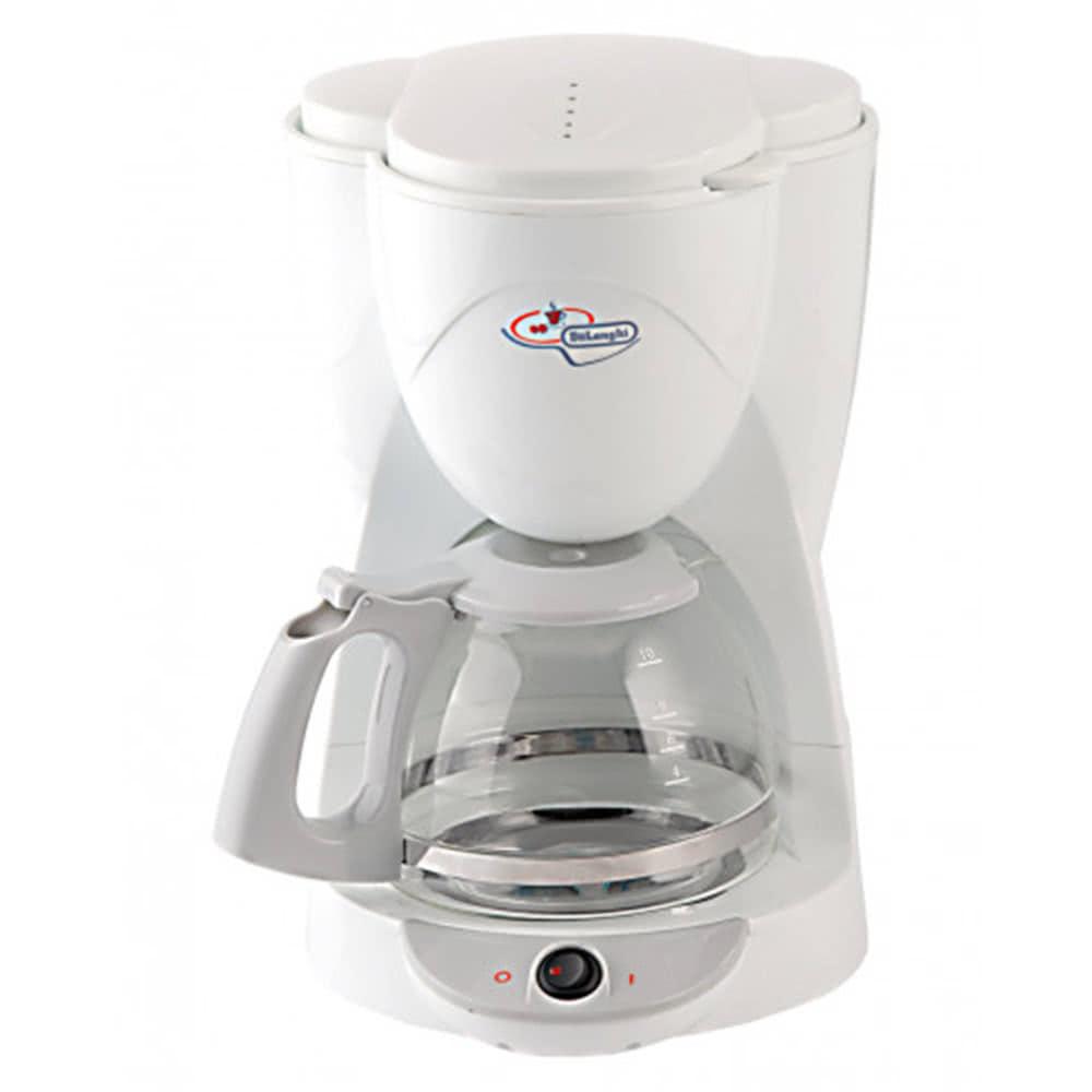 Кофеварка De'Longhi ICM 2 цвет белый фото вид спереди