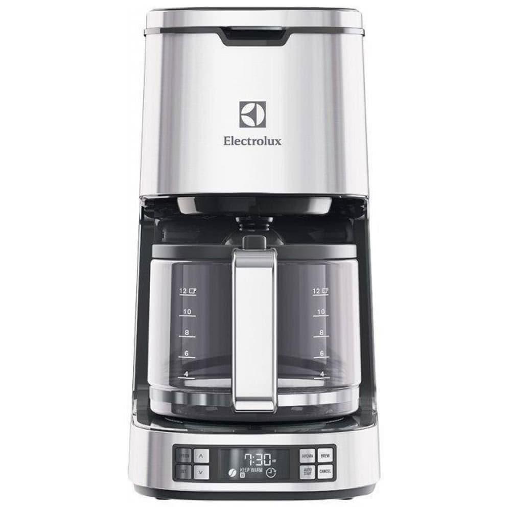 Кофеварка Electrolux EKF7800 цвет серебристый фото вид спереди