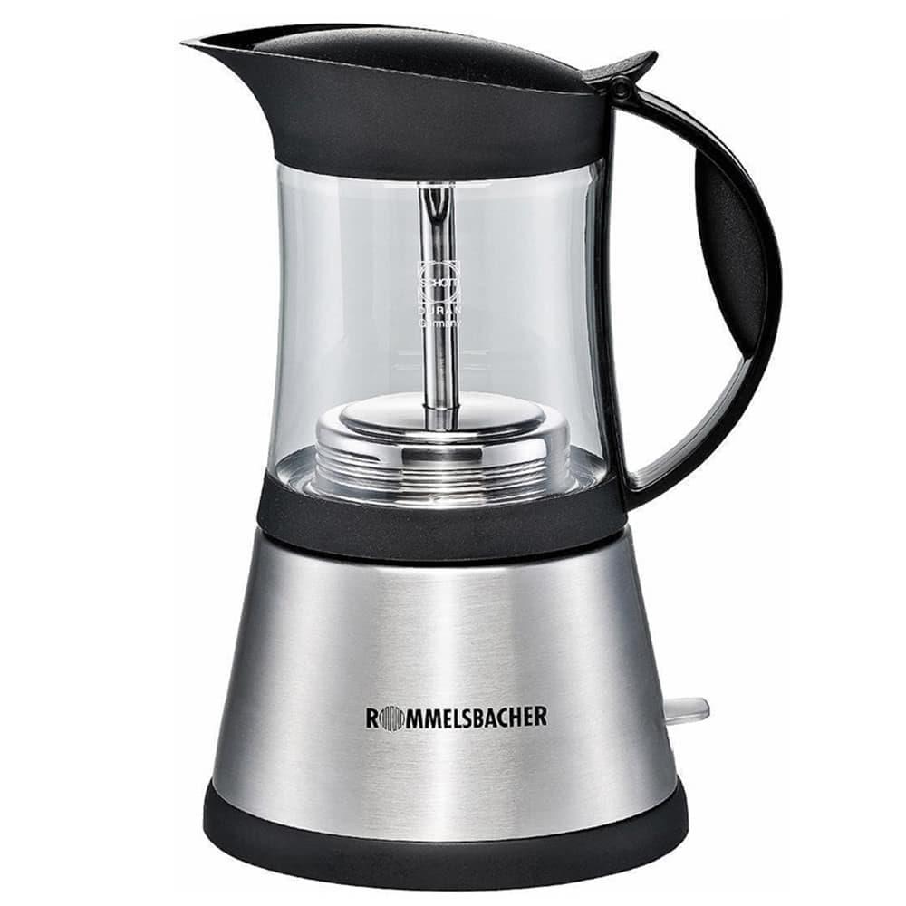 Кофеварка Rommelsbacher EKO 376/G цвет серебристый фото вид спереди