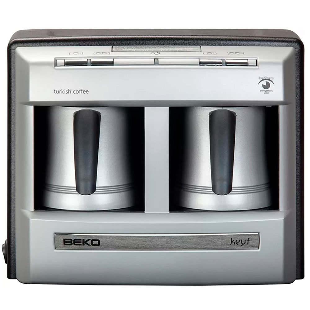 Кофеварка Beko BKK 2113 цвет серебристый фото вид спереди
