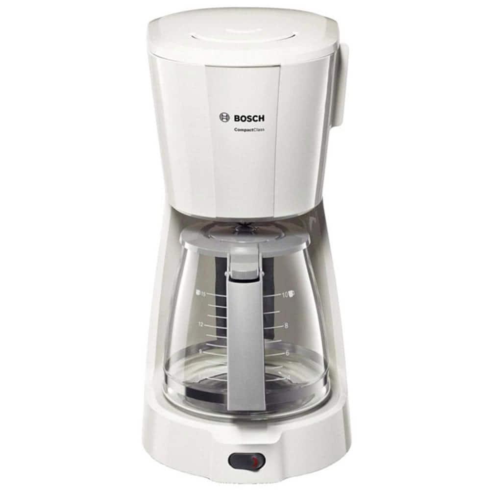Кофеварка Bosch TKA 3A031 цвет белый фото вид спереди