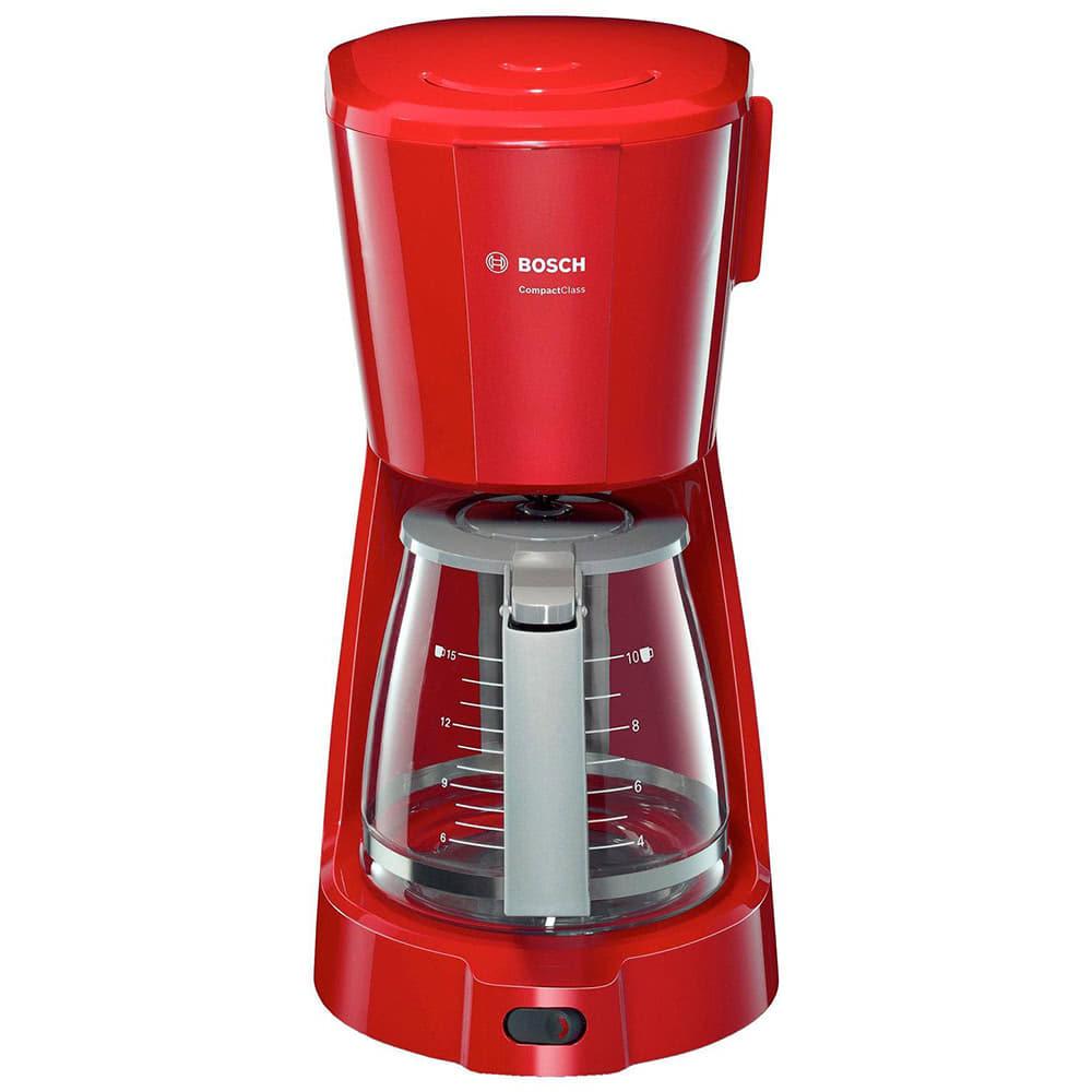 Кофеварка Bosch TKA 3A034 цвет красный фото вид спереди