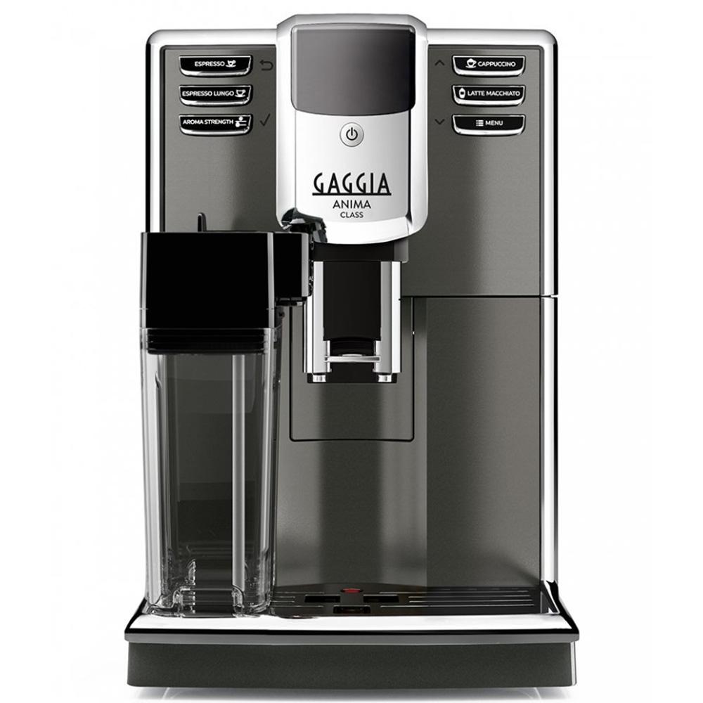 Кофемашина автоматическая зерновая Gaggia Anima Classic OTC цвет серый фото вид спереди