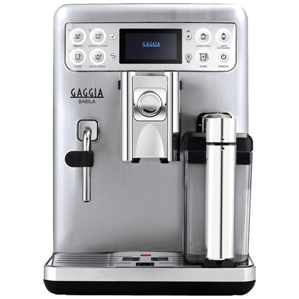 Кофемашина автоматическая зерновая Gaggia Babila цвет серебристый фото вид спереди