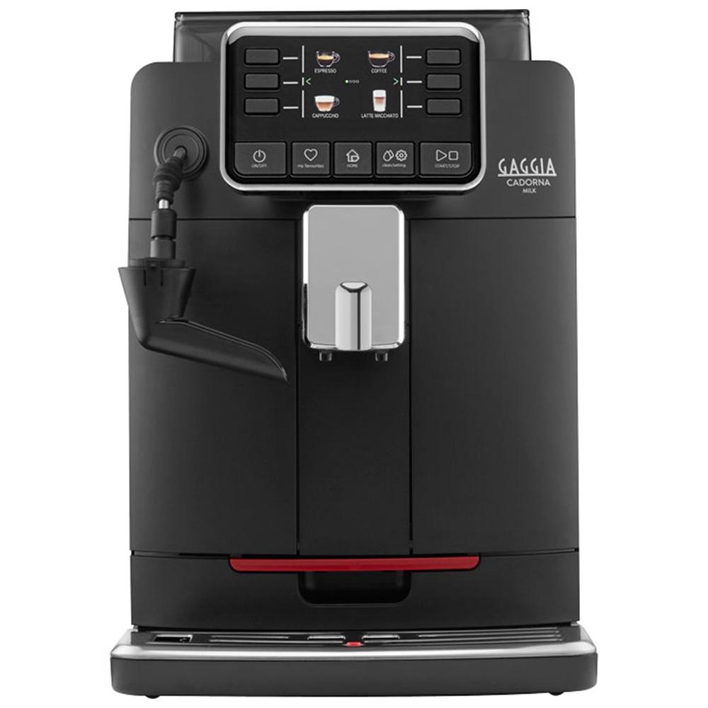 Кофемашина автоматическая зерновая Gaggia Cadorna Milk Black цвет черный фото вид спереди
