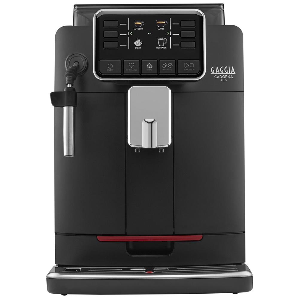 Кофемашина автоматическая зерновая Gaggia Cadorna Plus Black цвет черный фото вид спереди