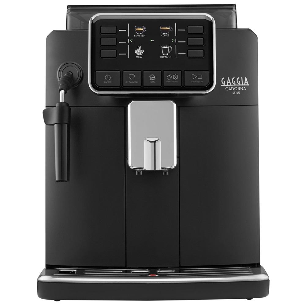 Кофемашина автоматическая зерновая Gaggia Cadorna Style Black цвет черный фото вид спереди