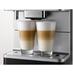 Кофемашина автоматическая зерновая Miele CM 6350.W фото стаканов с кофе