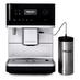 Кофемашина автоматическая зерновая Miele CM 6350.W вид спереди