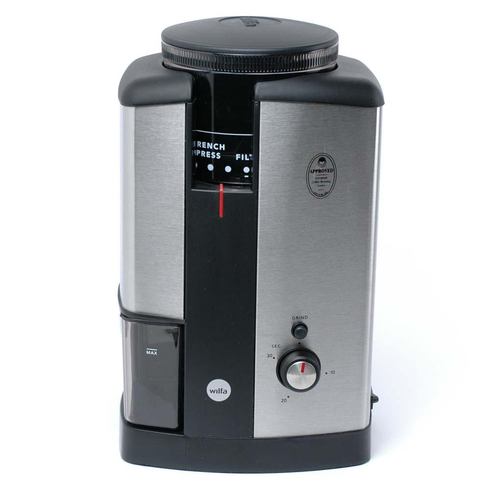 Кофемолка Wilfa WSCG-2 фото вид спереди