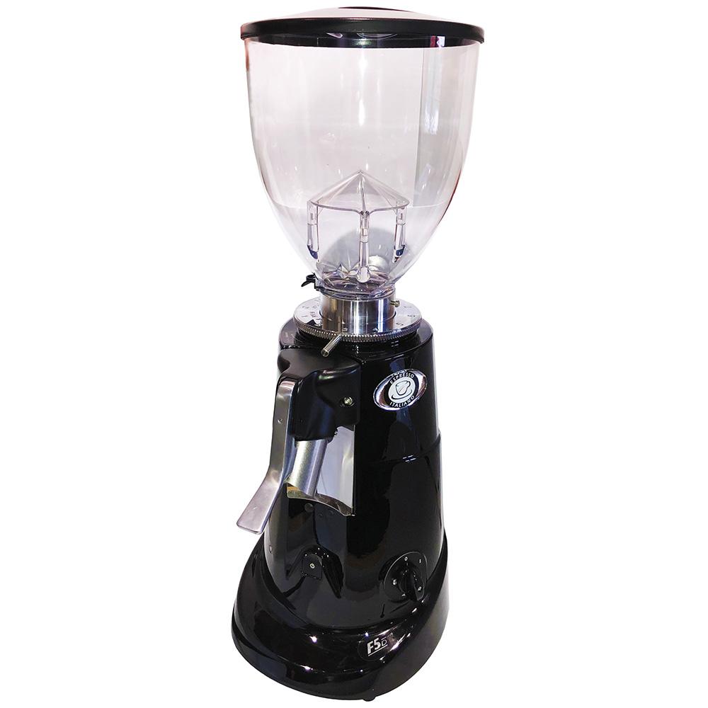 Кофемолка Fiorenzato F5 D.B цвет черный фото вид спереди