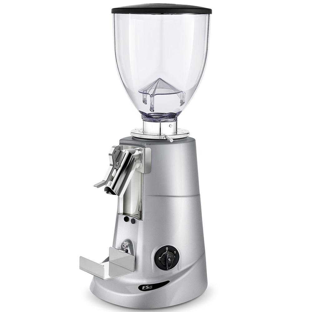 Кофемолка Fiorenzato F5 D.G цвет серый фото вид сбоку