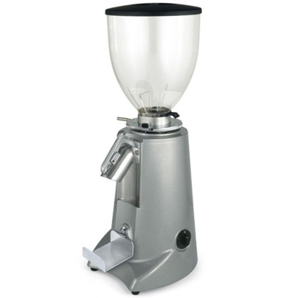 Кофемолка Fiorenzato F5 GD цвет серый фото вид сбоку