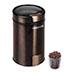 Кофемолка REDMOND RCG-1604 вид с кофе