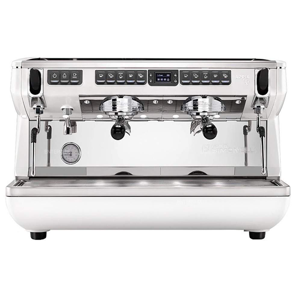 NUOVA SIMONELLI Appia Life XT 2Gr V 220V white+high groups